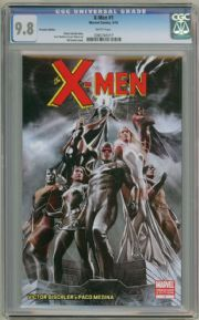X-Men #1 Premiere Edition Variant CGC 9.8 Adi Granov Marvel Comic